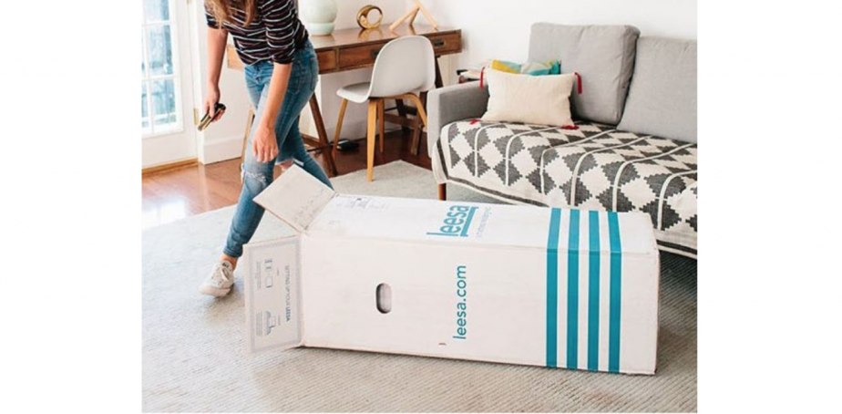 leesa mattress delivery review