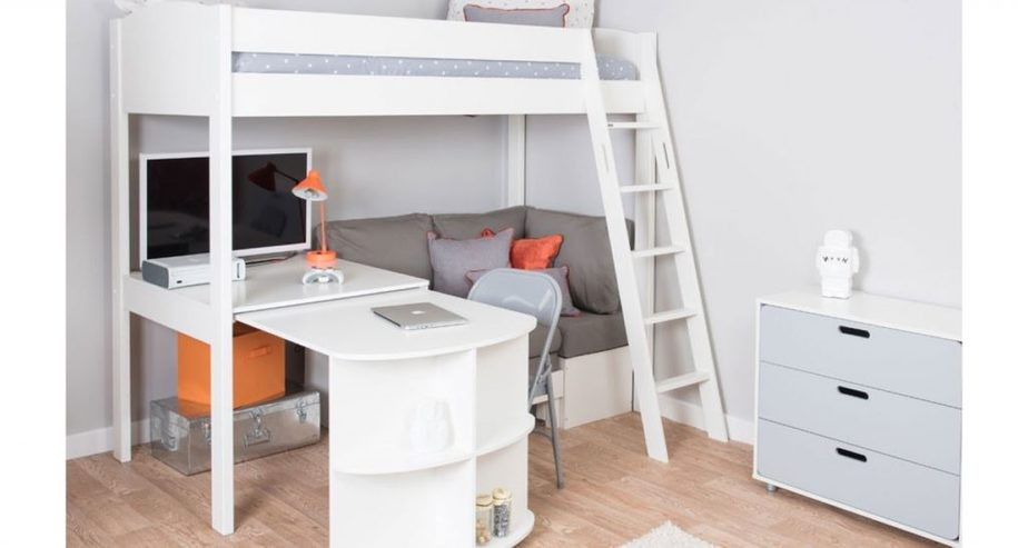 mi zone bunk bed with desk and sofa