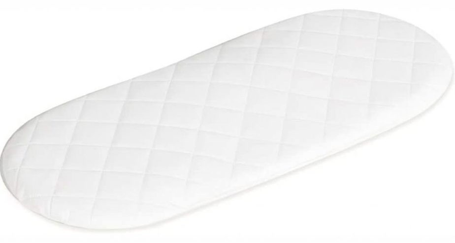 quilted moses basket mattress