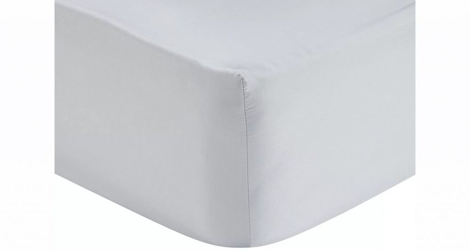 John Lewis & Partners 400 Thread Count Soft & Silky Egyptian Cotton Deep Fitted Sheet