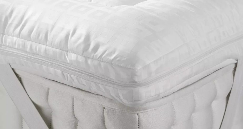John Lewis & Partners Soft Touch Washable Dual Layer Deep Mattress Topper