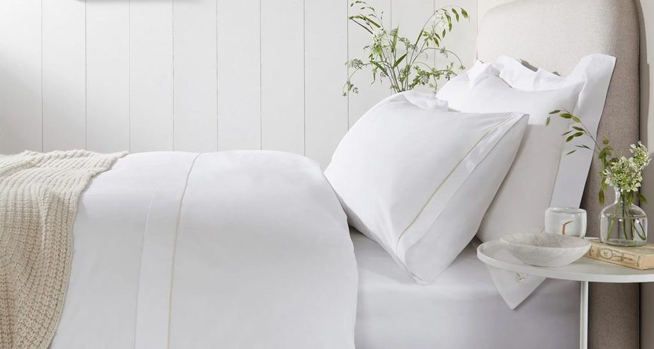 The White Company 200 Thread Count Egyptian Cotton Bed Linen Collection