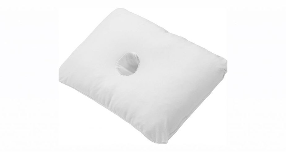 PureComfort Pillow with an Ear Hole